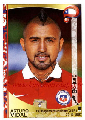 Panini Copa America Centenario USA 2016 Stickers - N° 339 - Arturo VIDAL (Chili)