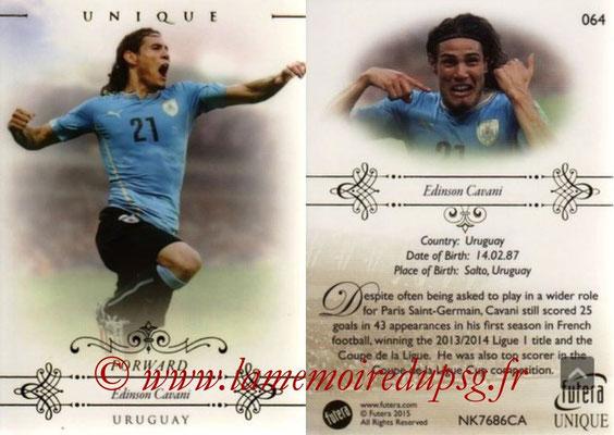 N° 064 - Edinson CAVANI (2013-??, PSG > 2015, Uruguay) (Forward)