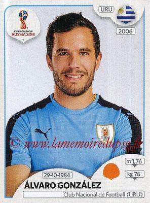 2018 - Panini FIFA World Cup Russia Stickers - N° 103 - Alvaro GONZALES (Uruguay)