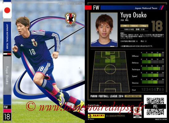 Panini Football League 2014 - PFL06 - N° 155 - Yuya OSAKO (Japon)