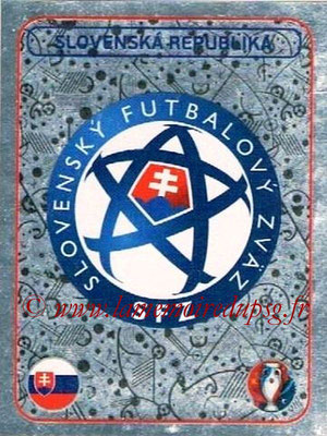 Panini Euro 2016 Stickers - N° 128 - Logo  Slovénie
