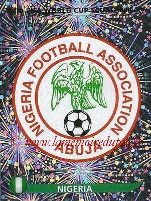 2010 - Panini FIFA World Cup South Africa Stickers - N° 126 - Logo Nigeria