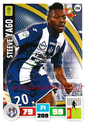 2016-17 - Panini Adrenalyn XL Ligue 1 - N° 356 - Steeve YAGO (Toulouse)