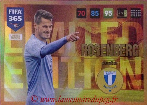2016-17 - Panini Adrenalyn XL FIFA 365 - N° LE65 - Markus ROSENBERG (Malmö FF) (Limited Edition)