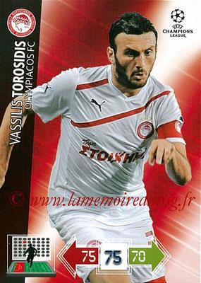 2012-13 - Adrenalyn XL champions League N° 186 - Vassilis TORROSIDIS (Olympiacos FC)