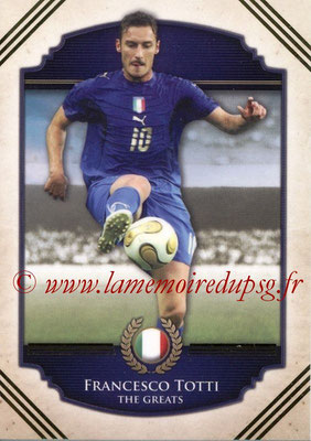 2014 - Futera World Football Unique - N° 118 - Francesco TOTTI (The Greats)