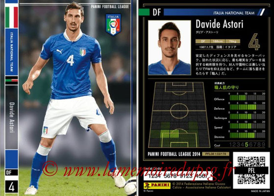 Panini Football League 2014 - PFL08 - N° 133 - Davide ASTORI (Italie)