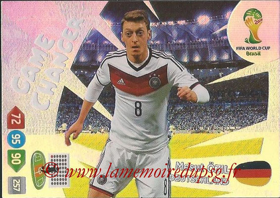 2014 - Panini FIFA World Cup Brazil Adrenalyn XL - N° 395 - Mesut OZIL (Allemagne) (Game Changer)