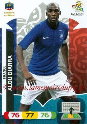 Panini Euro 2012 Cards Adrenalyn XL - N° 088 - Alou DIARRA (France)