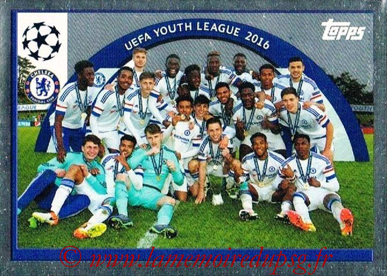 2016-17 - Topps UEFA Champions League Stickers - N° UYL 1 - UEFA Youth League 2016