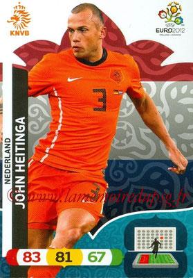 Panini Euro 2012 Cards Adrenalyn XL - N° 134 - John HEITINGA (Pays-Bas)