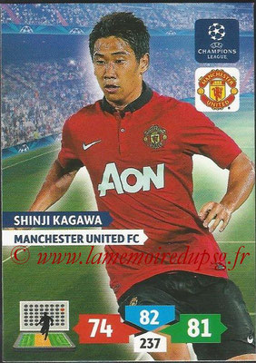 2013-14 - Adrenalyn XL champions League N° 178 - Shinji KAGAWA (Manchester United FC)