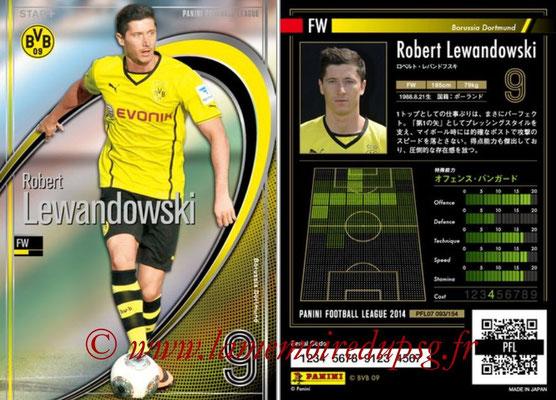 Panini Football League 2014 - PFL07 - N° 093 - Robert LEWANDOWSKI (Borussia Dortmund) (Star +)