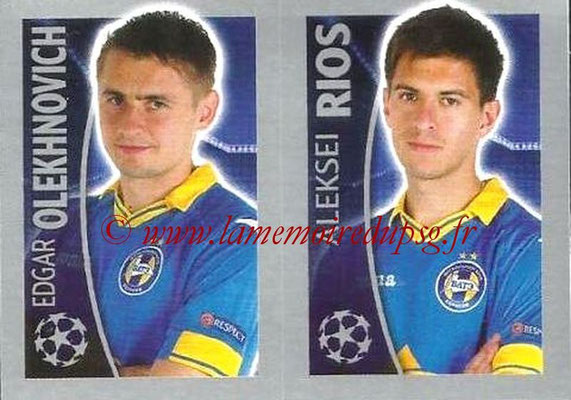 2015-16 - Topps UEFA Champions League Stickers - N° 364 - Edgar OLEKHNOVICH + Aleksei RIOS (FC Bate Borisov)