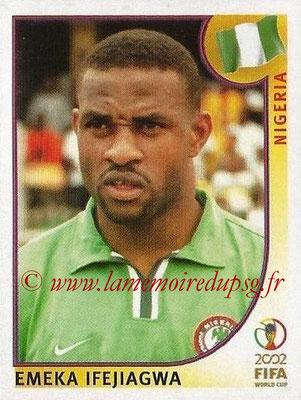 2002 - Panini FIFA World Cup Stickers - N° 407 - Emeka IFEJIAGWA (Nigéria)
