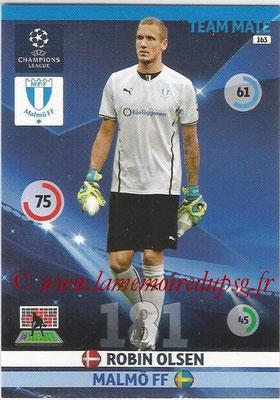 2014-15 - Adrenalyn XL champions League N° 163 - Robin OLSEN (Malmö FF)