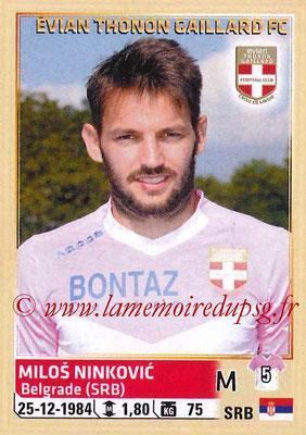 2014-15 - Panini Ligue 1 Stickers - N° 088 - Milos NINKOVIC (Evian Thonon Gaillard FC)