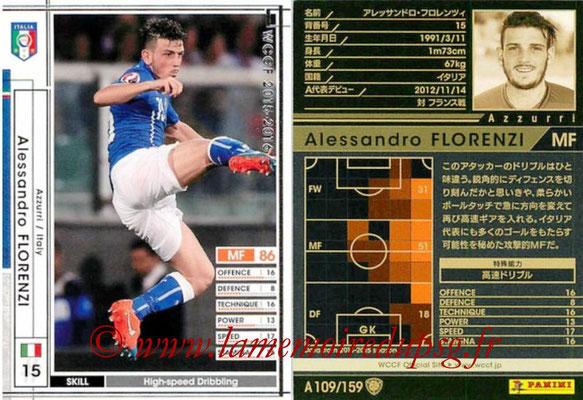 2015-16 - Panini WCCF - N° A109 - Alessandro FLORENZI (Italie)