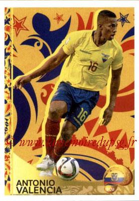 Panini Copa America Centenario USA 2016 Stickers - N° 415 - Antonio VALENCIA (Equateur) (En action)