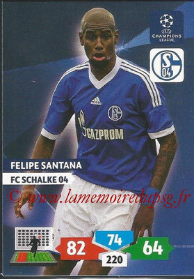 2013-14 - Adrenalyn XL champions League N° 246 - Felipe SANTANA (FC Schalke 04)