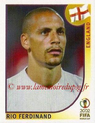 2002 - Panini FIFA World Cup Stickers - N° 427 - Rio FERDINAND (Angleterre)