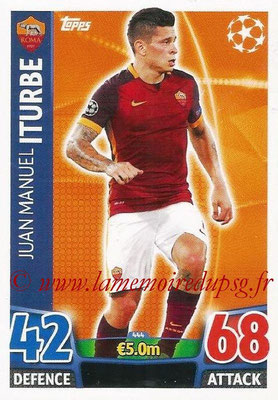 2015-16 - Topps UEFA Champions League Match Attax - N° 444 - Juan Manuel ITURBE (AS Roma)