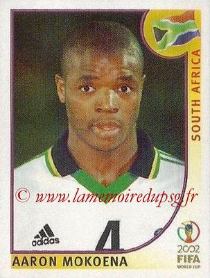 2002 - Panini FIFA World Cup Stickers - N° 158 - Aaron MOKOENA (Afrique du Sud)