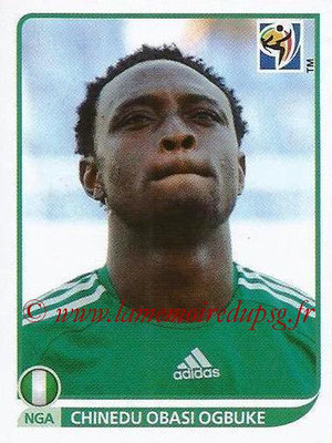 2010 - Panini FIFA World Cup South Africa Stickers - N° 140 -Chinedu OBASI OGBUKE (Nigeria)