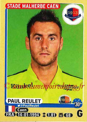 2015-16 - Panini Ligue 1 Stickers - N° 098 - Paul REULET (SM Caen)