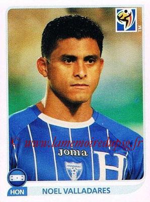 2010 - Panini FIFA World Cup South Africa Stickers - N° 602 - Noel VALLADARES (Honduras)