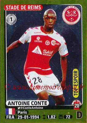 2015-16 - Panini Ligue 1 Stickers - N° 379 - Antoine CONTE (Stade de Reims) (Top espoir)
