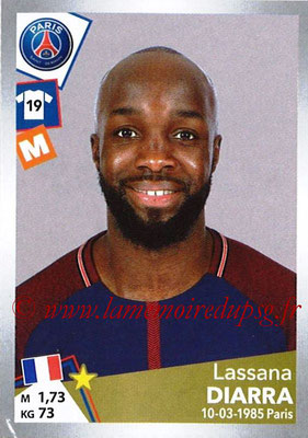 2017-18 - Panini Ligue 1 Stickers - N° T26 - Lassana DIARRA (Paris Sain-Germain) (Transfert)