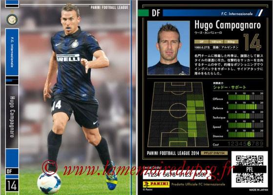 Panini Football League 2014 - PFL07 - N° 016 - Hugo CAMPAGNARO (Inter)
