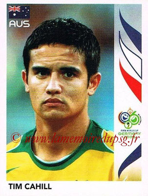 2006 - Panini FIFA World Cup Germany Stickers - N° 428 - Tim CAHILL (Australie)