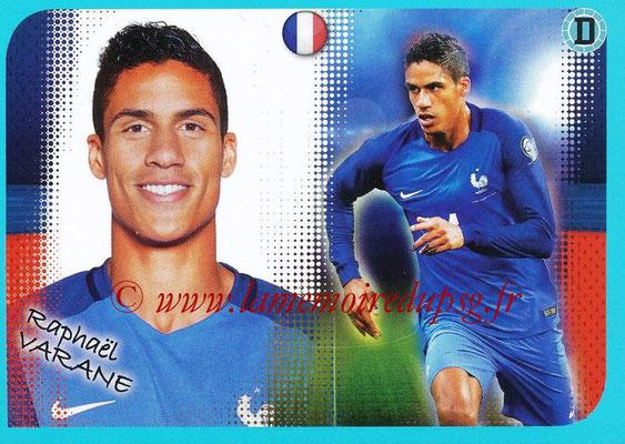 2016-17 - Panini Ligue 1 Stickers - N° P09 - Raphaêl VARANE (Poster Equipe de France)