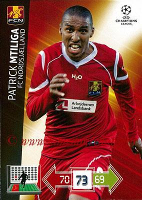 2012-13 - Adrenalyn XL champions League N° 174 - Patrick MTILGA (FC Nordsjaelland)