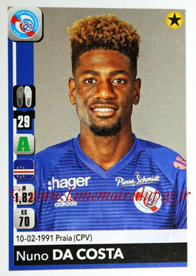 2018-19 - Panini Ligue 1 Stickers - N° 468 - Nuno DA COSTA (Strasbourg)