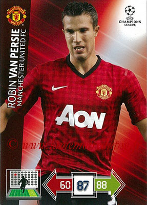 2012-13 - Adrenalyn XL champions League N° 146 - Robin VAN PERSIE (Manchester United FC)