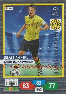 2013-14 - Adrenalyn XL champions League N° 298 - Sebastian KEHL (Borussia Dortmund) (Fans' Favourite)