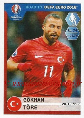 Panini Road to Euro 2016 Stickers - N° 378 - Gokhan TORE (Turquie)