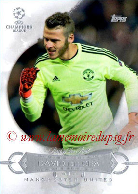 2015-16 - Topps UEFA Champions League Showcase Soccer - N° BB-DDG - David DE GEA (Manchester United FC) (Best of the Best)