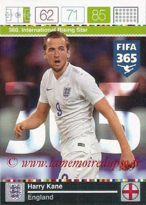 2015-16 - Panini Adrenalyn XL FIFA 365 - N° 360 - Harry KANE (Angleterre) (International Rising Star)