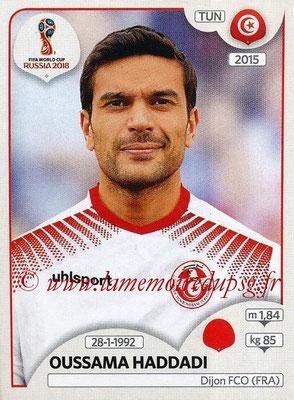 2018 - Panini FIFA World Cup Russia Stickers - N° 560 - Oussama HADDADI (Tunisie)