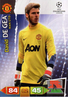 2011-12 - Panini Champions League Cards - N° 143 - David DE GEA (Manchester United FC)