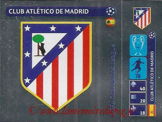 2014-15 - Panini Champions League N° 005 - Logo Atletico Madrid