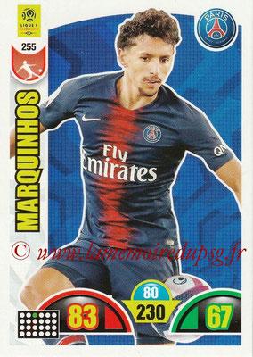 2018-19 - Panini Adrenalyn XL Ligue 1 - N° 255 - MARQUINHOS (Paris Saint-Germain)