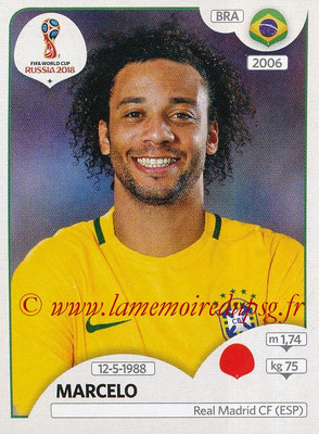 2018 - Panini FIFA World Cup Russia Stickers - N° 360 - MARCELO (Bresil)