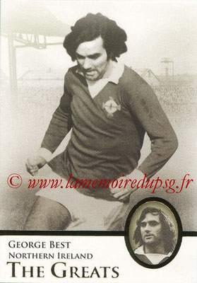 2013 - Futera World Football Unique - N° 104 - George BEST (Irlande du Nord) (The Greats)