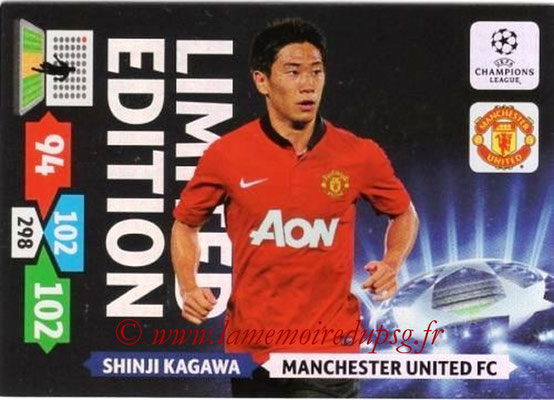 2013-14 - Adrenalyn XL champions League N° LE36 - Shinji KAGAWA (Manchester United FC) (Limited Edition)