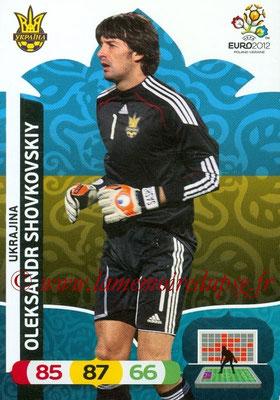 Panini Euro 2012 Cards Adrenalyn XL - N° 214 - Oleksandr SHOVKROVSKY (Ukraine)